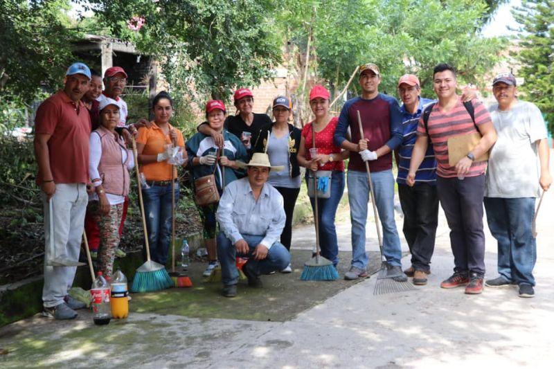 Jornadas de Limpieza en el Municipio de Luvianos