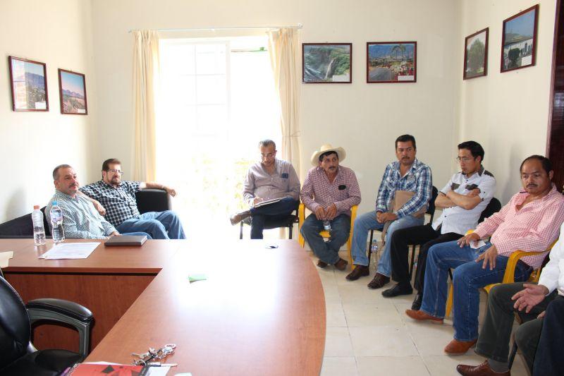 Reunión de trabajo con el Comité Intersecretarial de Regulación de Rastros.