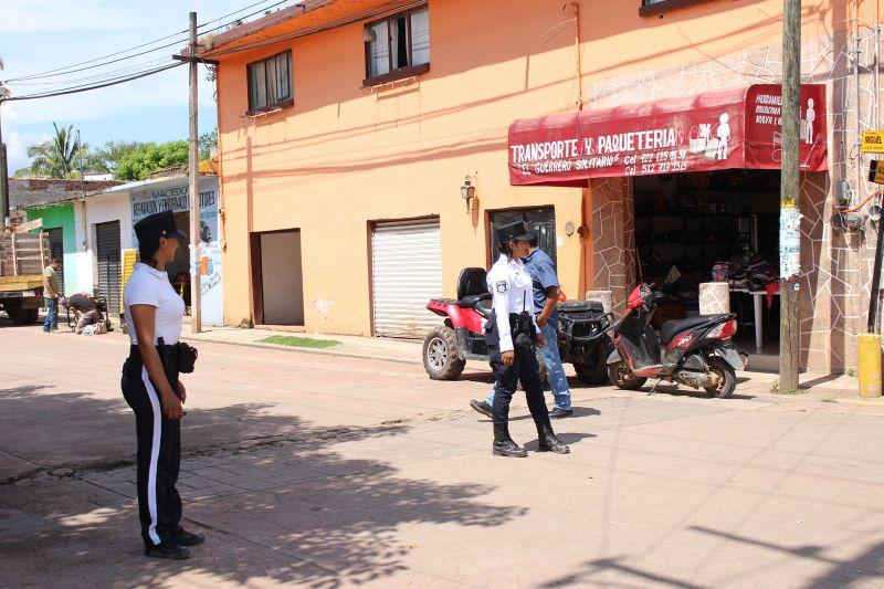 Policía de Tránsito en Luvianos