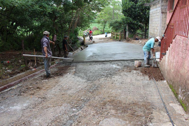 Avance de la obra en la Comunidad de San Sebastián