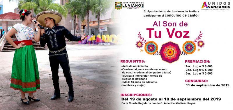 "Concurso de canto ""Al Son de Tu Voz"""
