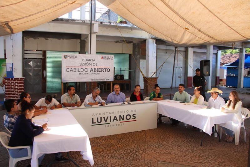 Sesión de Cabildo en San Juan Acatitlán