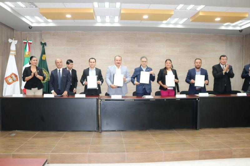 Firma de Convenios con la UAEM Temascaltepec.