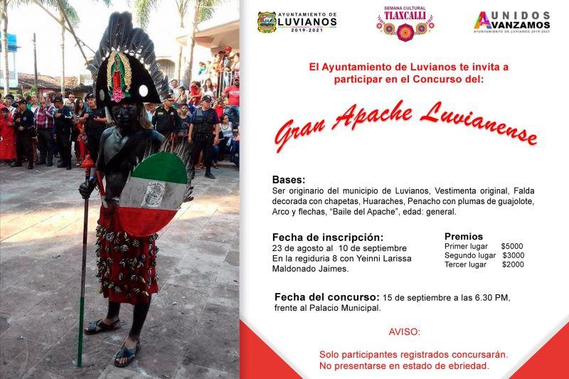 Convocatoria El Gran Apache Luvianense