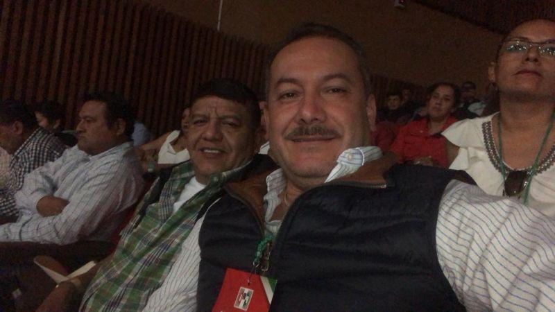 Presidente Municipal De Luvianos Alfredo Jaimes Benítez Presente en el Reencuentro Revolucionario