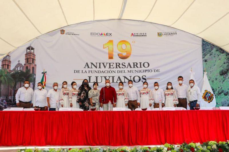 Decimonoveno Aniversario de la Fundación del Municipio de Luvianos.