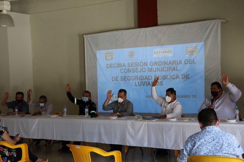 Décima Sesión de Seguridad Pública