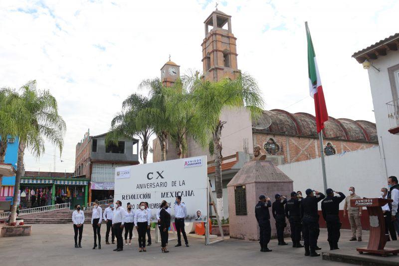 CX Aniversario del Inicio de la Revolución Mexicana