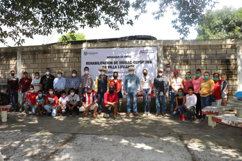 Arranque de Obra: Rehabilitación de la Unidad Deportiva Luvianos