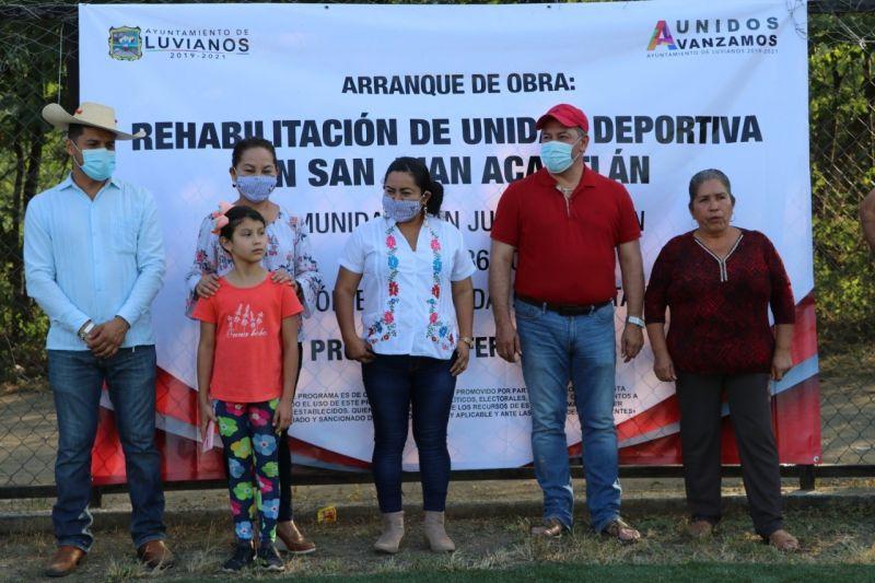 Rehabilitación de la Unidad Deportiva De Acatitlán
