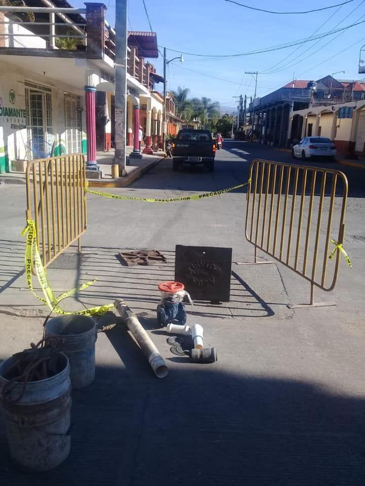 Reparación de válvulas de agua en el municipio de Luvianos