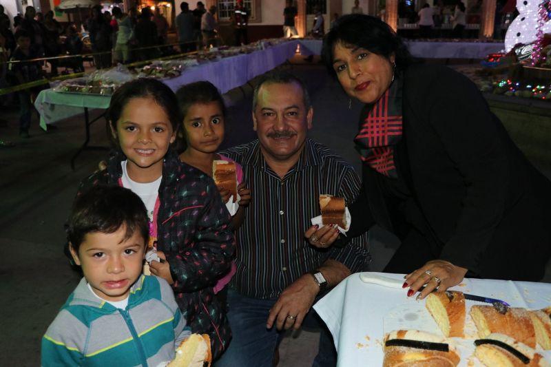 Festejo del Día de Reyes en Luvianos