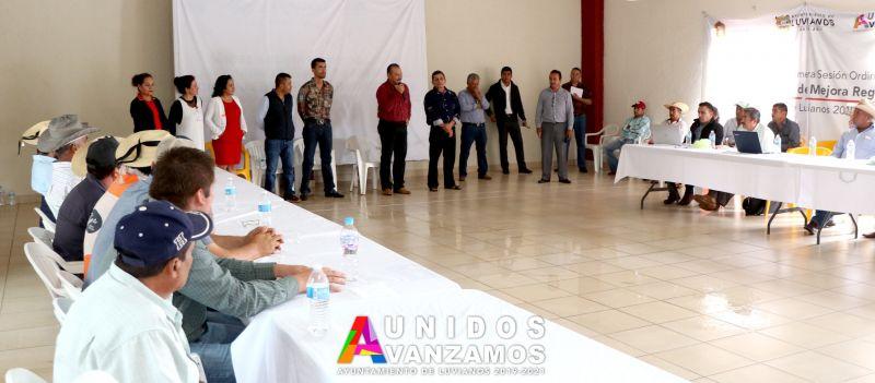 Reunión con delegados municipales