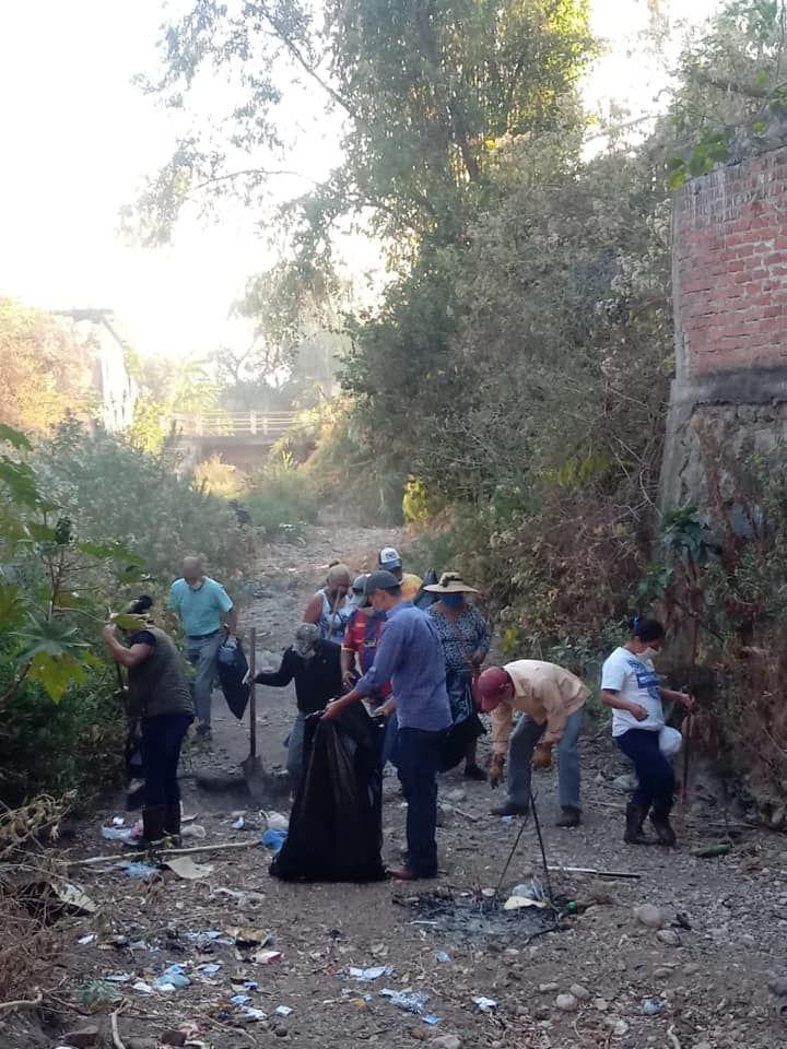 Jornada de Limpieza Para Evitar Inundaciones en Temporadas de Lluvias.