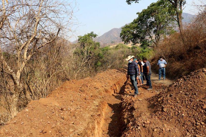 Supervisión de Obra: Rehabilitación y Ampliación del Drenaje de la Comunidad de Hermiltepec.