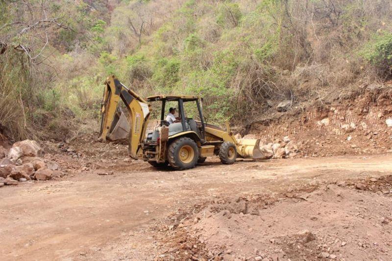 Construcción de Vado en La Barranca del Carrizal