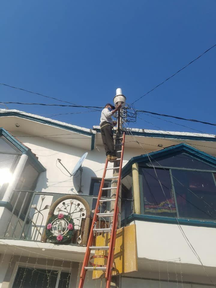 Rehabilitación de Alumbrado Público en Luvianos