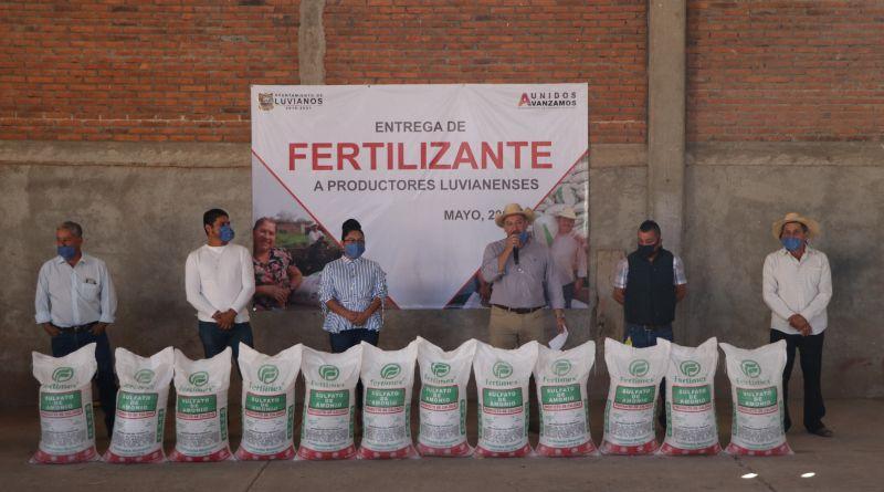 Entrega de Fertilizante 2020 a Campesinos Luvianenses.