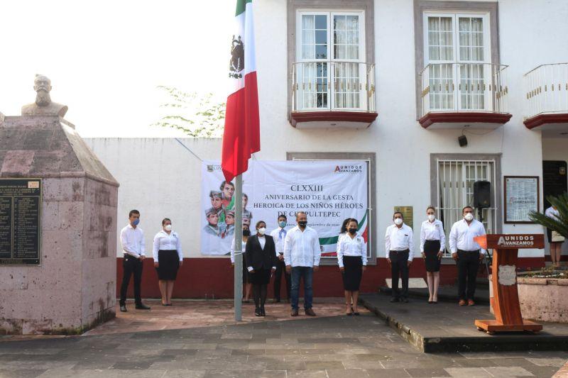 CLXXIII aniversario de la Gesta Heroica de los Niños Héroes de Chapultepec.