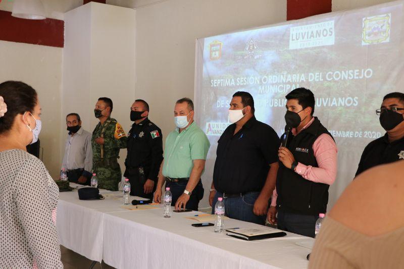 Séptima Sesión Ordinaria del Consejo de Seguridad Pública de Luvianos