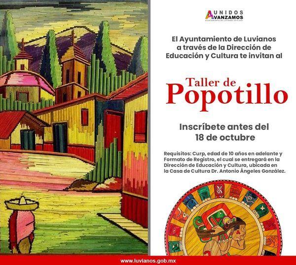 Inscripción a Taller de Popotillo