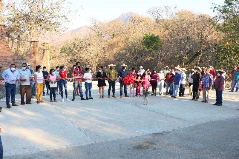 Inauguración del Libramiento de Hermiltepec