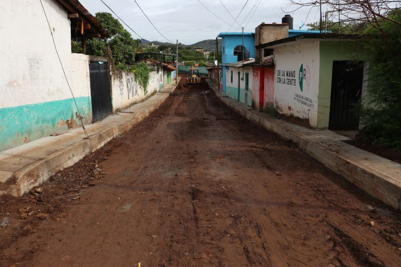 Avance de Obra: Rehabilitación de la Calle Vicente Suarez