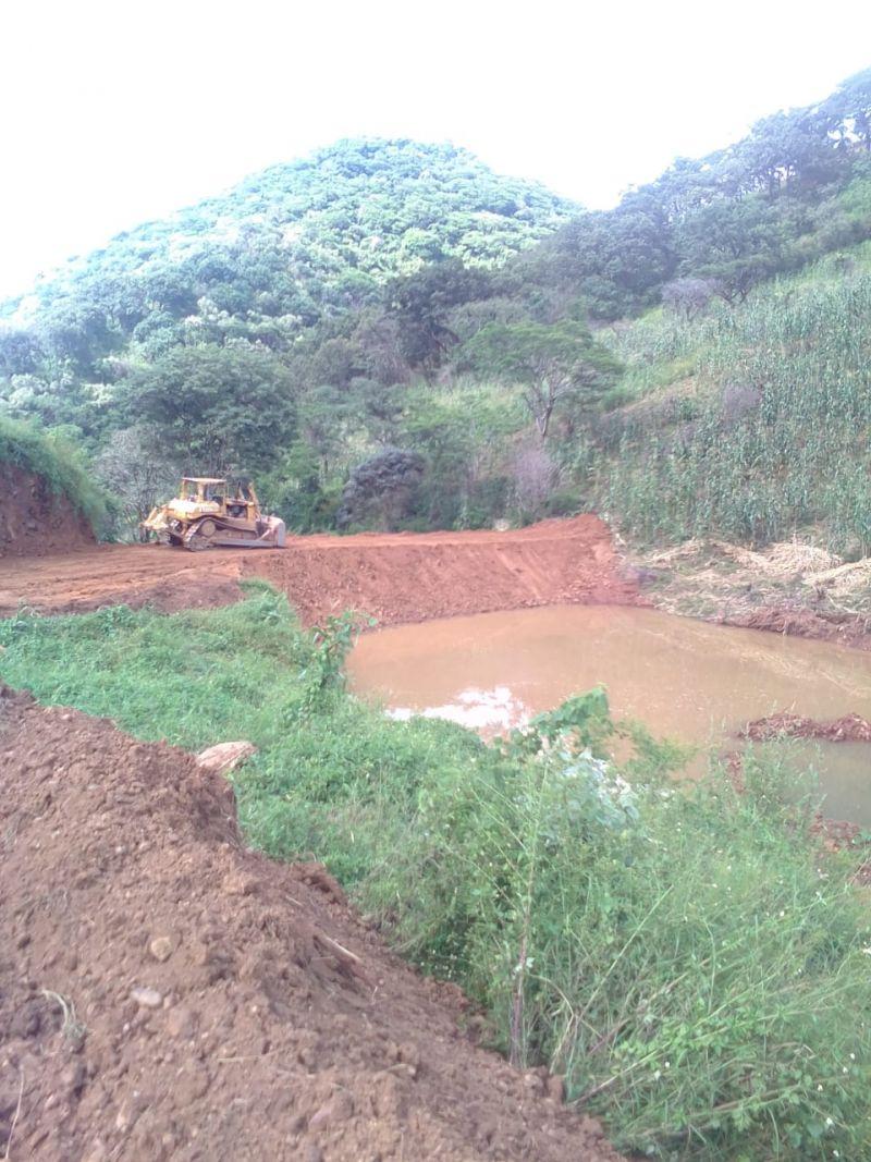 Construcción de Bordos y Caminos Saca Cosechas